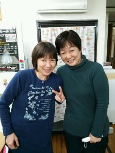左:節政美恵子さん、右:津端恵美子さん