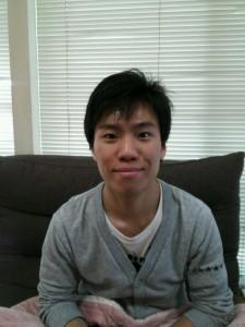 澤啓太さん。「皆さんよろしくお願いいたします。」