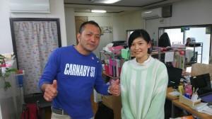 左:東剣一さん、右:藤村祐美さん